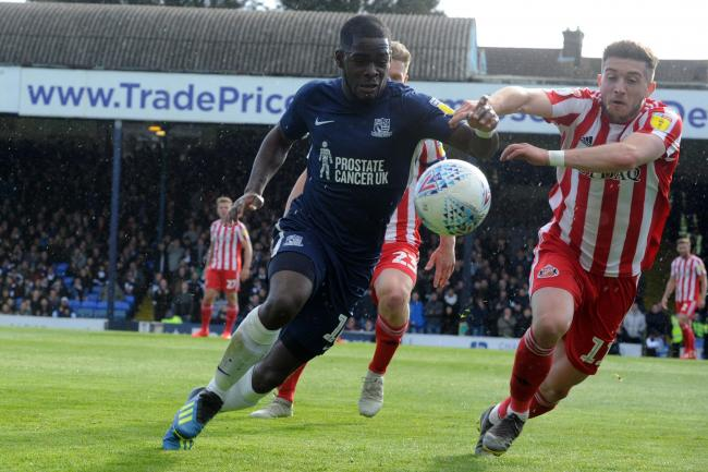 Moving on - Dru Yearwood has left Southend United