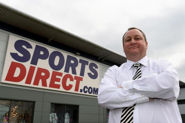 Mike Ashley's retail chief quits Sports Direct   Echo
