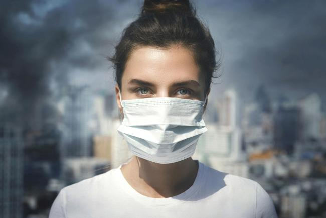 Undated Handout Photo of a woman wearing a face mask as protection from polllution. See PA Feature HEALTH Air Pollution. Picture credit should read: iStock/PA. WARNING: This picture must only be used to accompany PA Feature HEALTH Air Pollution.