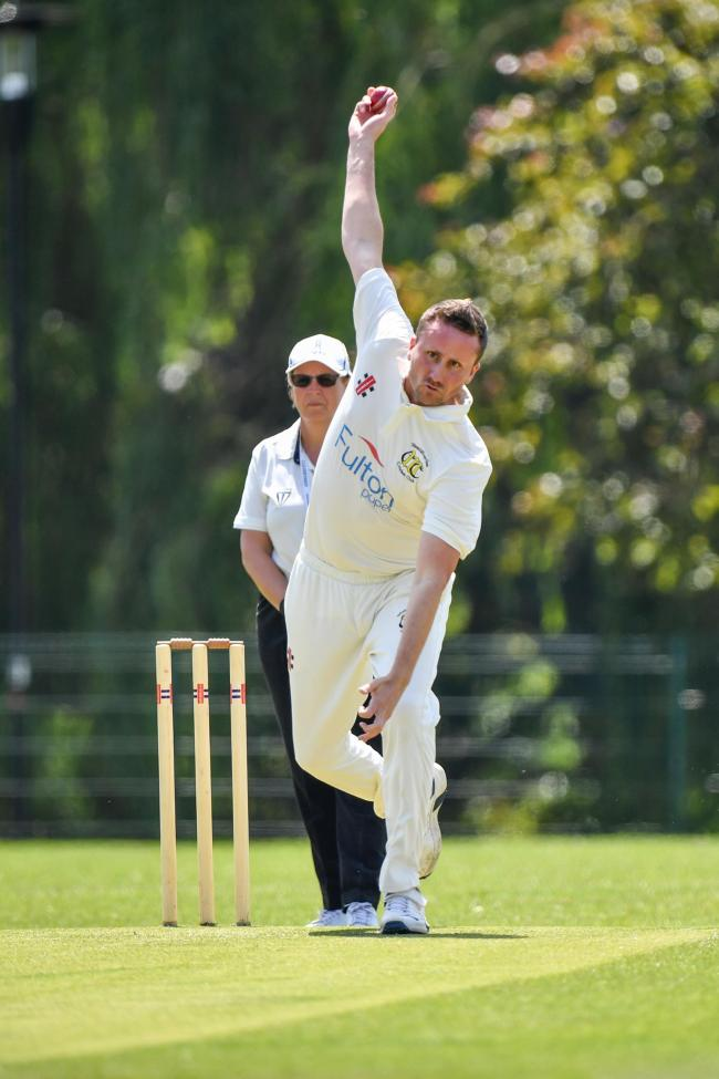 Important - David Hewitt took three wickets for Westcliff last time out Picture: JON WAGSTAFF
