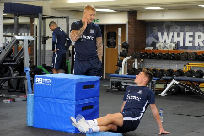 Eager - Southend United defender Tom Clifford (right)