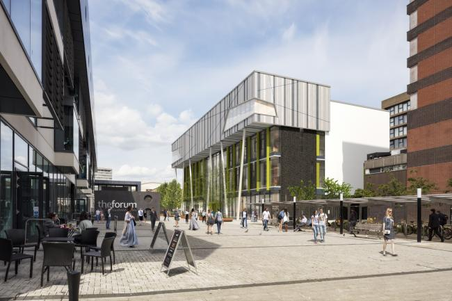Creative Southend - an artist impression of the new building