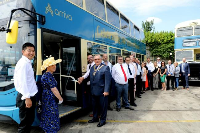 Celebrations - Arriva is marking 100 years since the inaugural route 1 service