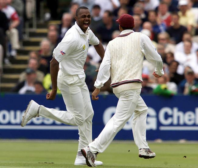 Heading to Hadleigh - West Indian legend Courtney Walsh