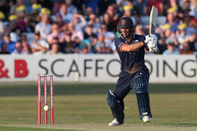 Leading the way - Ryan ten Doeschate top scored for Essex
