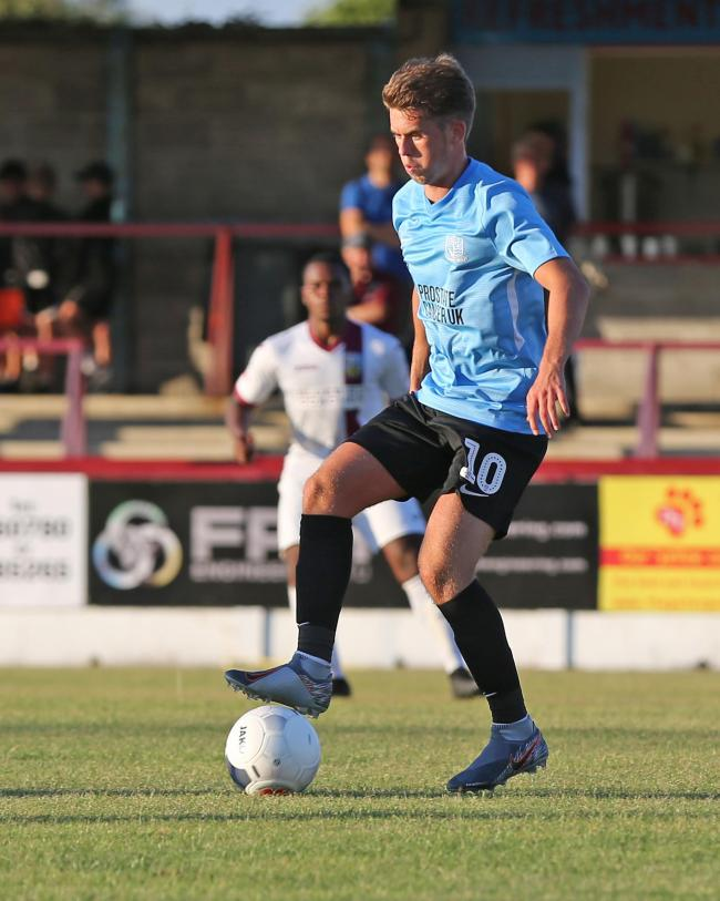 Aiming for a breakthrough - Southend United midfielder Harry Phillips