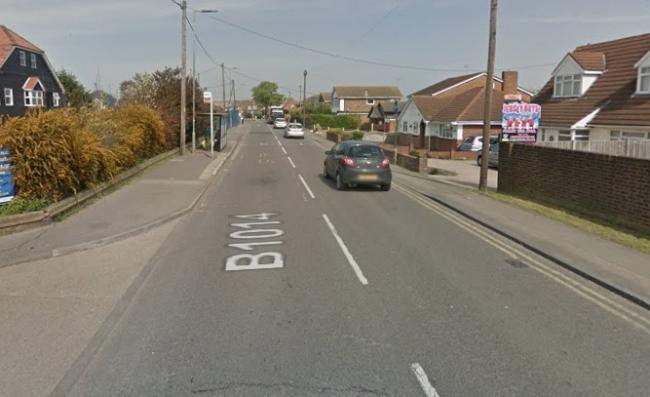 The incident happened on Knightswick Road. Pic: Google