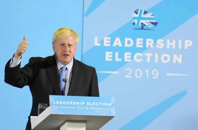Prime Minister - Boris Johnson can make a difference. Photo by Steve Brading Photography.