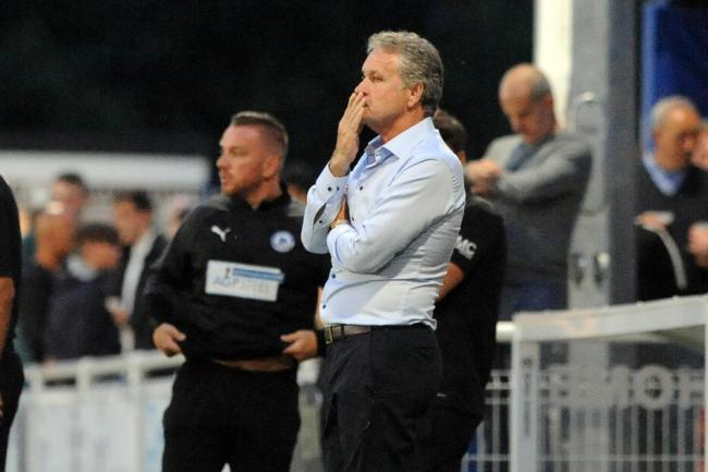 Boosted - Southend United manager Kevin Bond