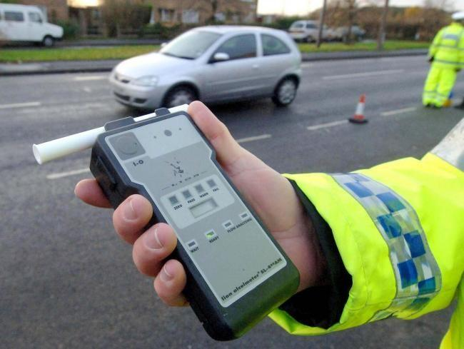 Driver was so drunk that he called police himself... now he's been banned