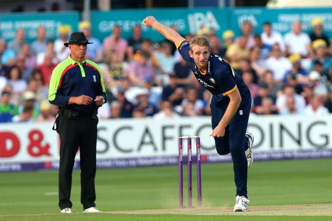 In action - Essex all round Paul Walter