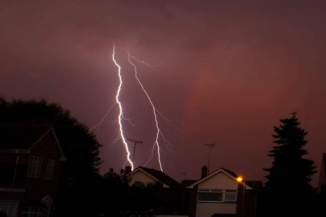 Essex braced for thunderstorms as Met Office issues a yellow weather