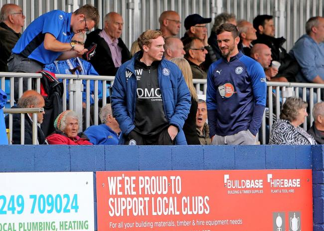 Wanting a reaction - Billericay Town boss Harry Wheeler Picture: NICKY HAYES/iCORE LTD