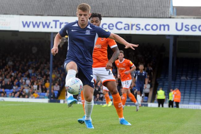 In the starting line-up - Southend United striker Charlie Kelman