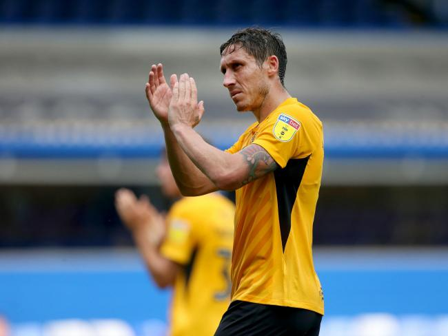 Keen to bounce back - Southend United skipper Mark Milligan