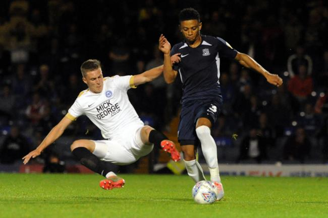 Pushing forward - Southend United defender Nathan Ralph