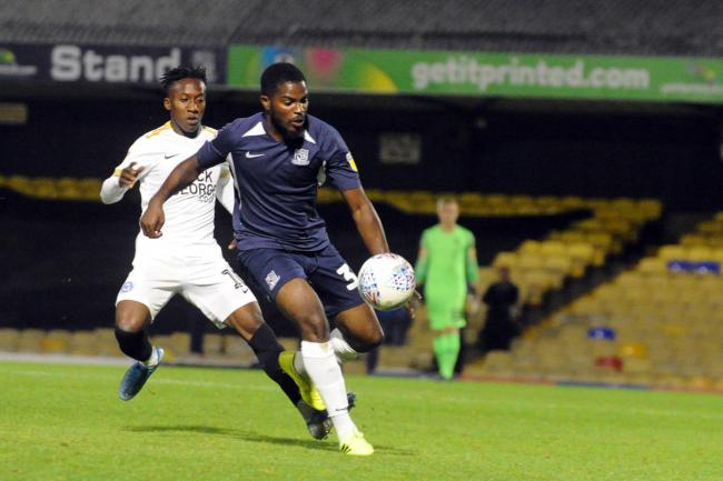 Determined - Southend United defender Andre Blackman