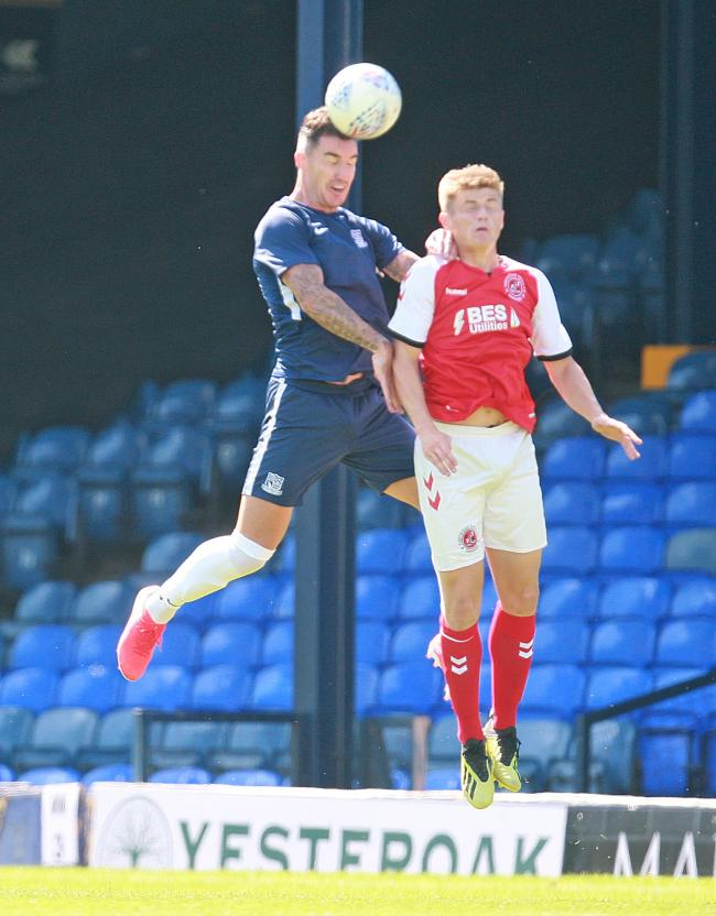 Back in action - Southend United defender Liam Ridgewell
