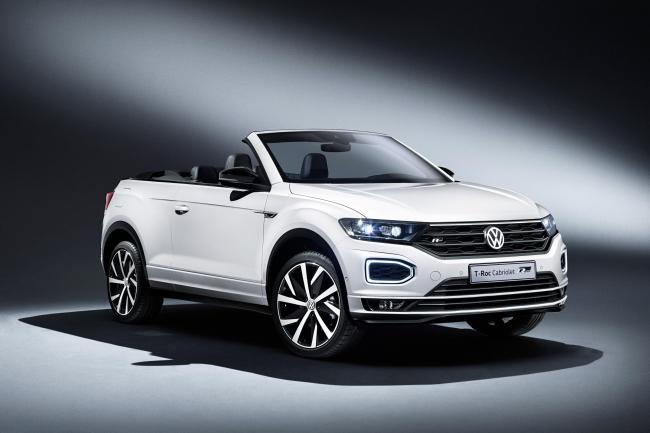 The Volkswagen T-Roc Cabriolet