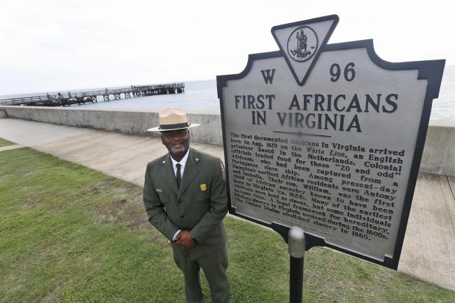 US state of Virginia marks 400th anniversary of slave ship arrival
