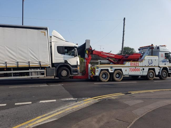 Woman in 80s dies after being hit by a lorry in Hockley   Echo
