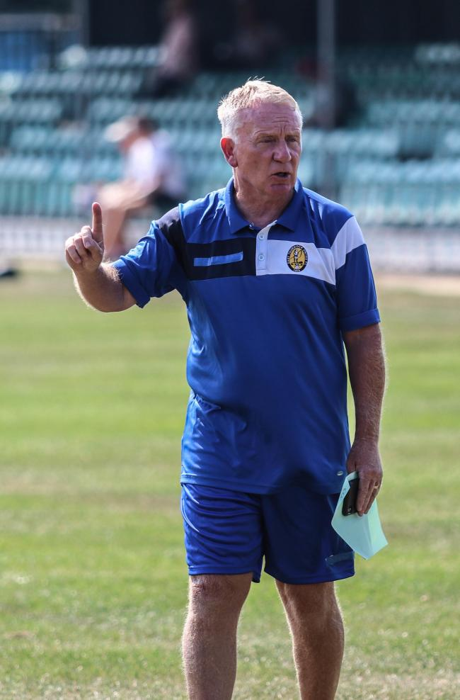 Set to depart - John Coventry feels he has managed East Thurrock United for the last time Picture: JACQUES FEENEY