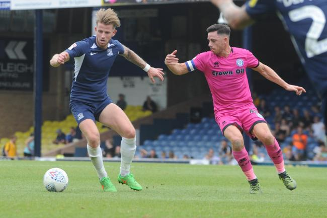 Tough afternoon - Southend United midfielder Luke Hyam