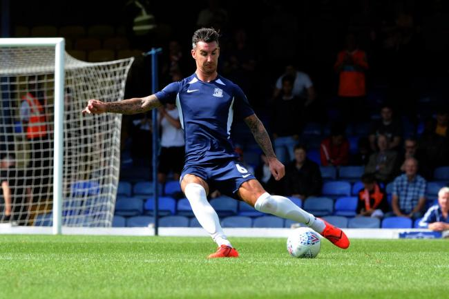 Pushing for a place - Southend United defender Liam Ridgewell