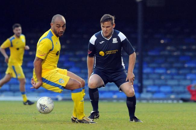 Back at Roots Hall - Craig Fagan (left) is keen to get off to a good start with Blues