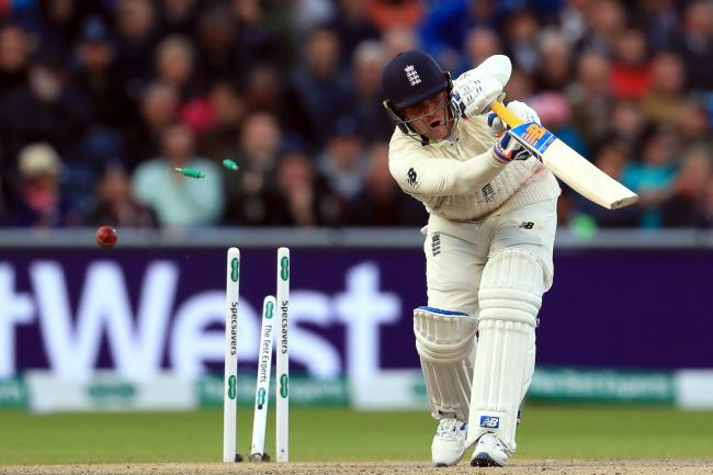 Jason Roy, clean bowled by Josh Hazlewood on day three of the fourth Ashes Test, was no match for Australia's attack