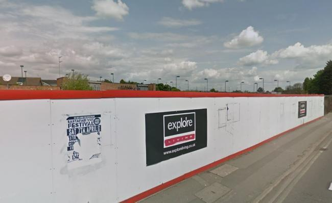 Plans - the site in Wickford