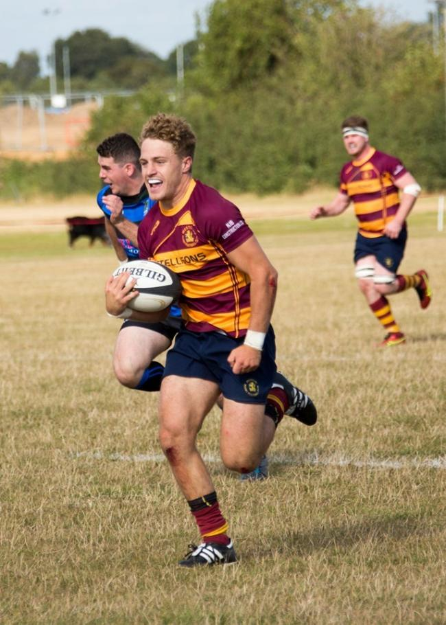 Looking to bounce back - Westcliff scrum half Chris Bolton