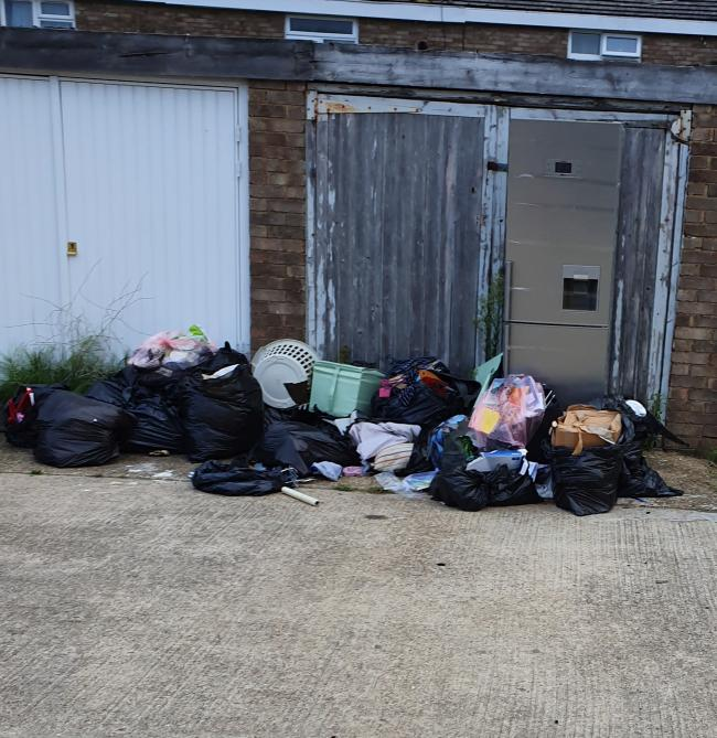 Repeat dumping - the flytippers have been blighting part of Basildon for two years now and residents want something done by the council
