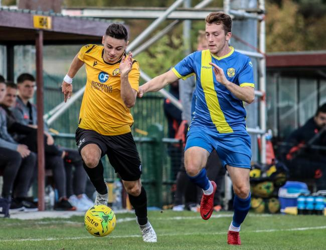 Impressed - East Thurrock United's Alex Clark Picture: JACQUES FEENEY