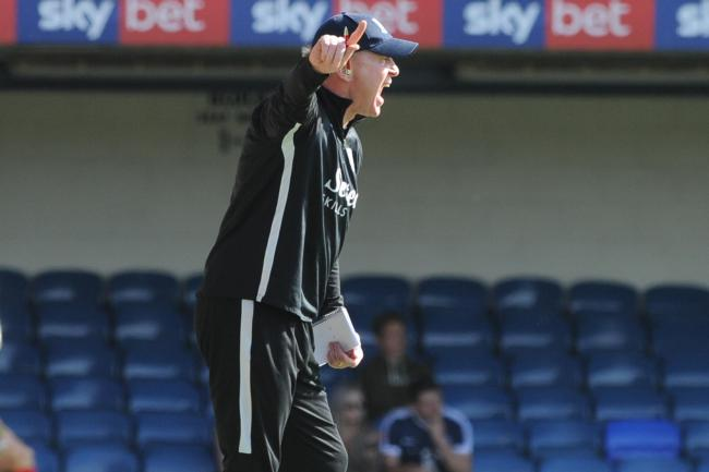 Solid start - for Southend United's caretaker manager Gary Waddock