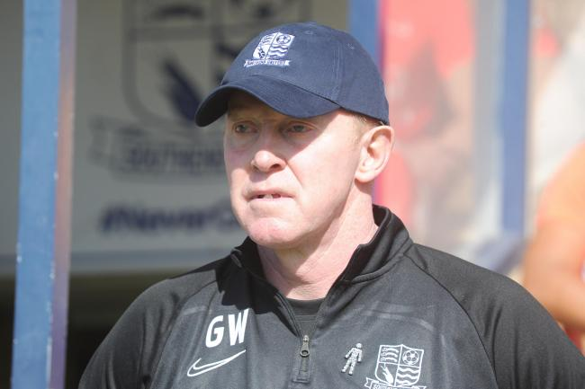 Staying in charge - Southend United's caretaker manager Gary Waddock