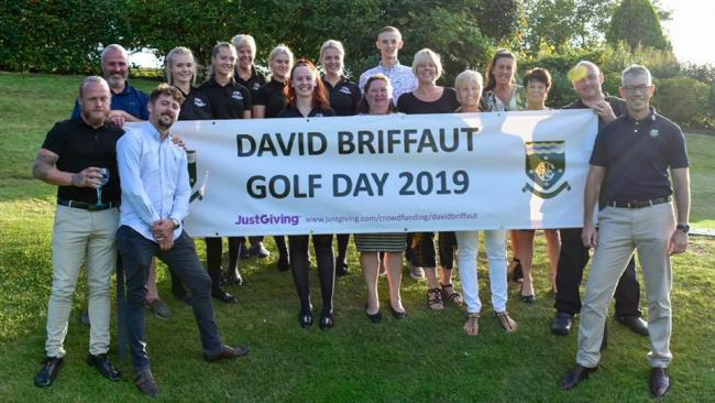 Charity golf day raises £23k for 'our Dave'