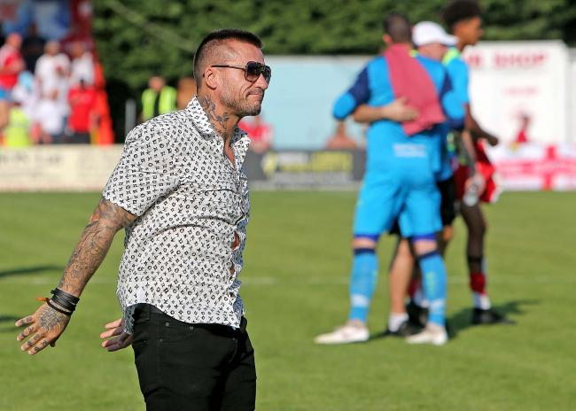 Stepped down - Glenn Tamplin Picture: NICKY HAYES/iCORE LTD