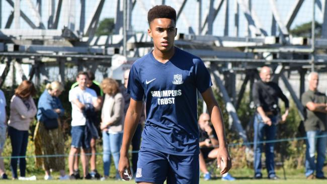 On the score-sheet - Southend United youngster Kenny Coker