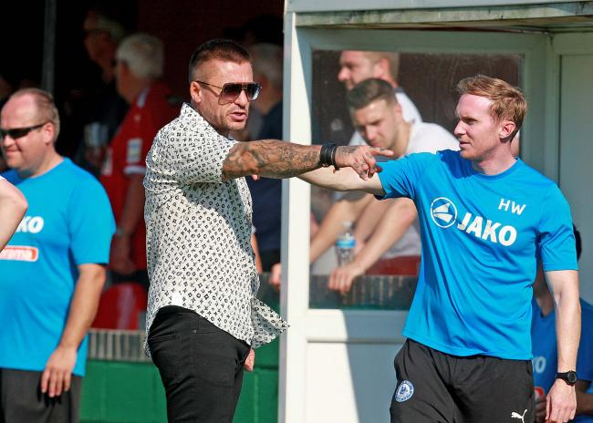 Walked away - Glenn Tamplin Picture: NICKY HAYES/iCORE LTD
