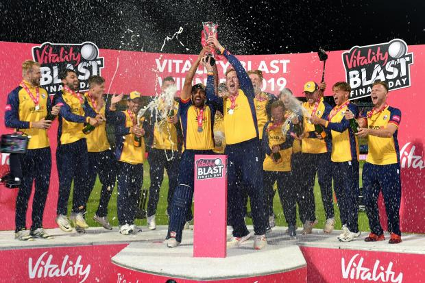 Silverware - Essex Eagles get their hands on the Vitality Blast trophy after overcoming Worcestershire Rapids in the thrilling final