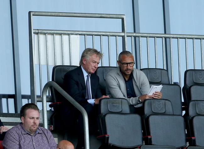 In talks - Ron Martin and Henrik Larsson