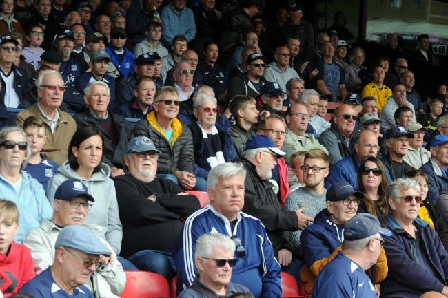 Backing their team - Southend United's supporters
