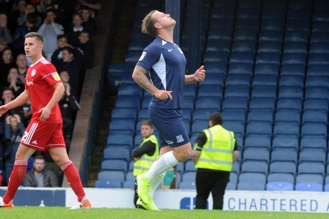 Injured - Southend United striker Simon Cox