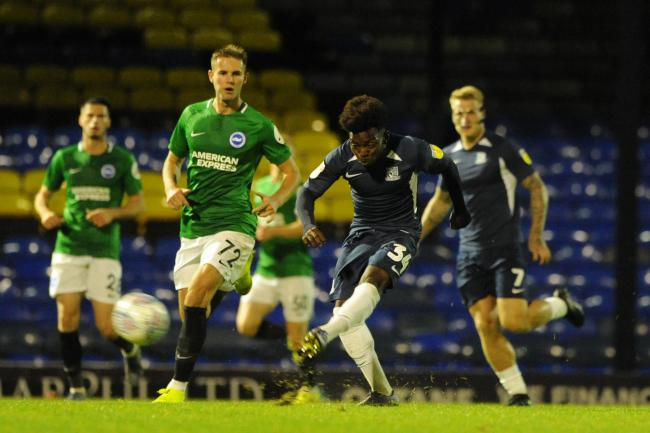 Debut - for Southend United youngster Terrell Egbri