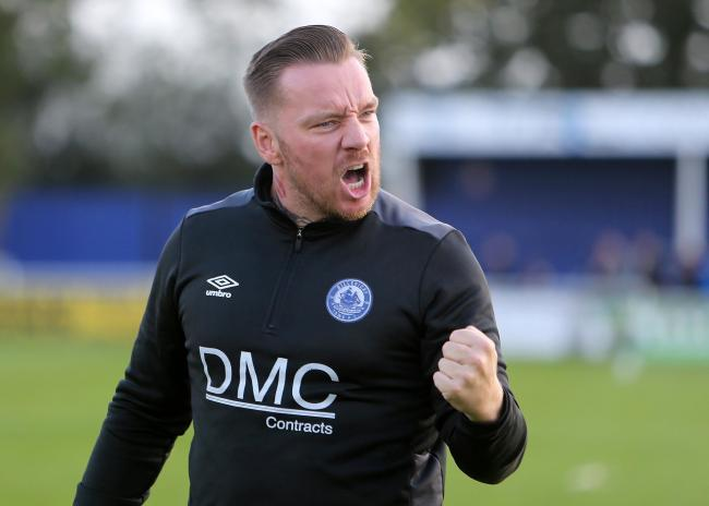 Set to face Sutton United - Jamie O'Hara's Billericay Town Picture: NICKY HAYES/iCORE LTD