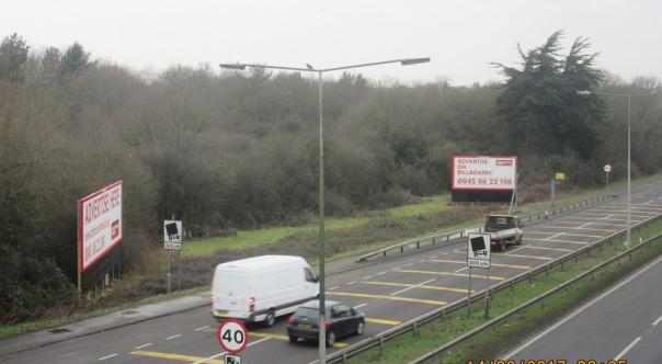 'Dangerous' A127 adverts WILL be removed from road because they are a 'hazard'