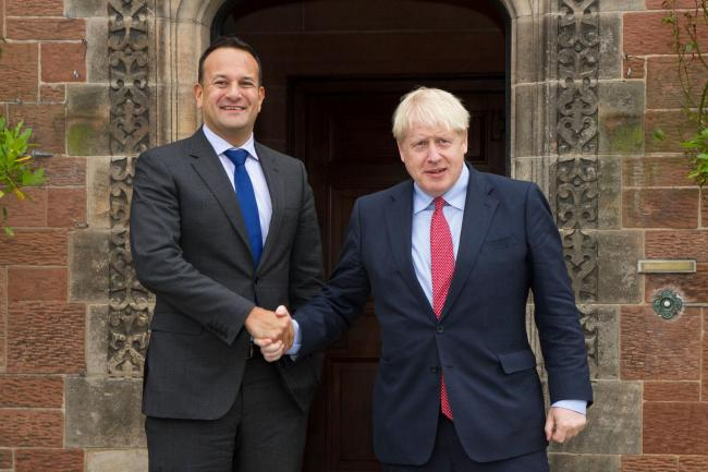 Leo Varadkar meets Boris Johnson