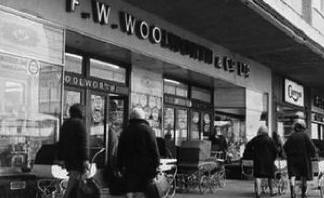 Remember Woolworths? The store was once one of the most popular in the town centre