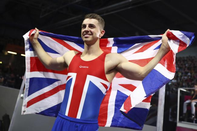 Another world title - for Basildon's Max Whitlock